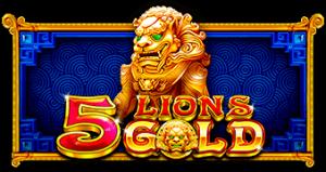 Uusi 5 Lions Gold sisältää ilmaiskierroksia kertoimilla
