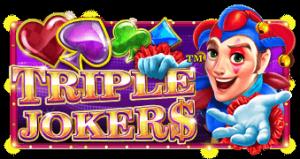 Triple Joker -kolikkopelissä on Las Vegasin tunnelmaa