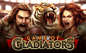 Game of Gladiators on jännittävä uusi kolikkopeli